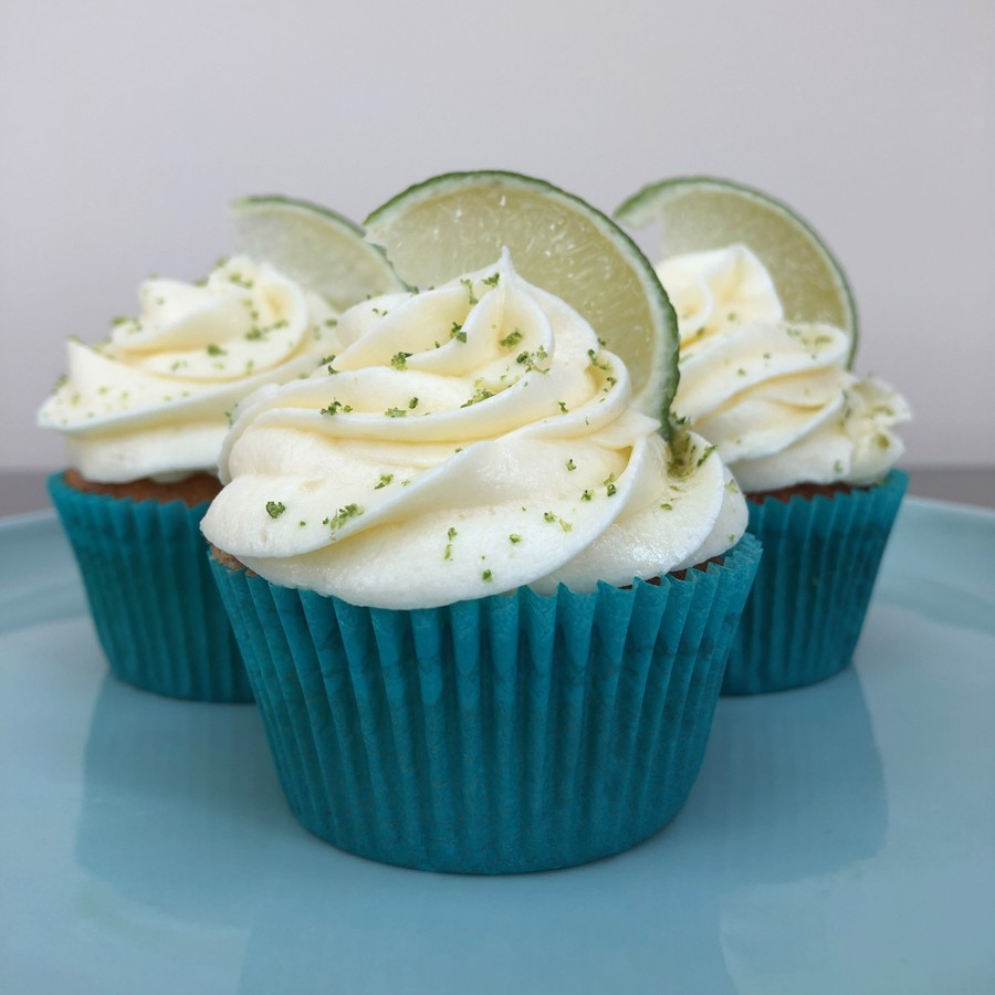 Gin and Tonic Cupcakes