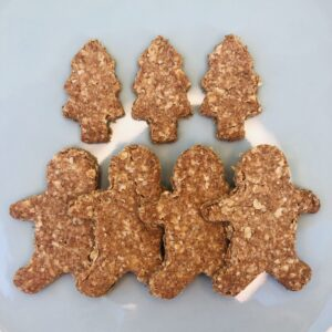 Christmas Dog Biscuits