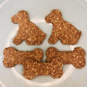 Porridge Peanut Butter Biscuits