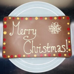 Milk Christmas Celebration Slab