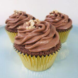 Praline Crunch Cupcakes