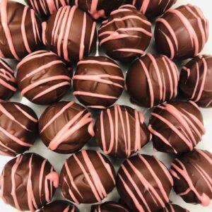 Cherry Kirsch Truffles