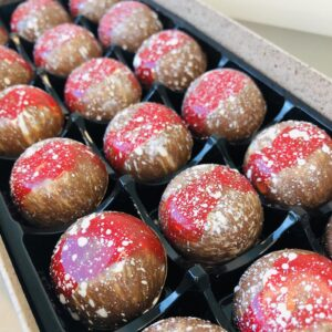 Strawberries and Cream Chocolates